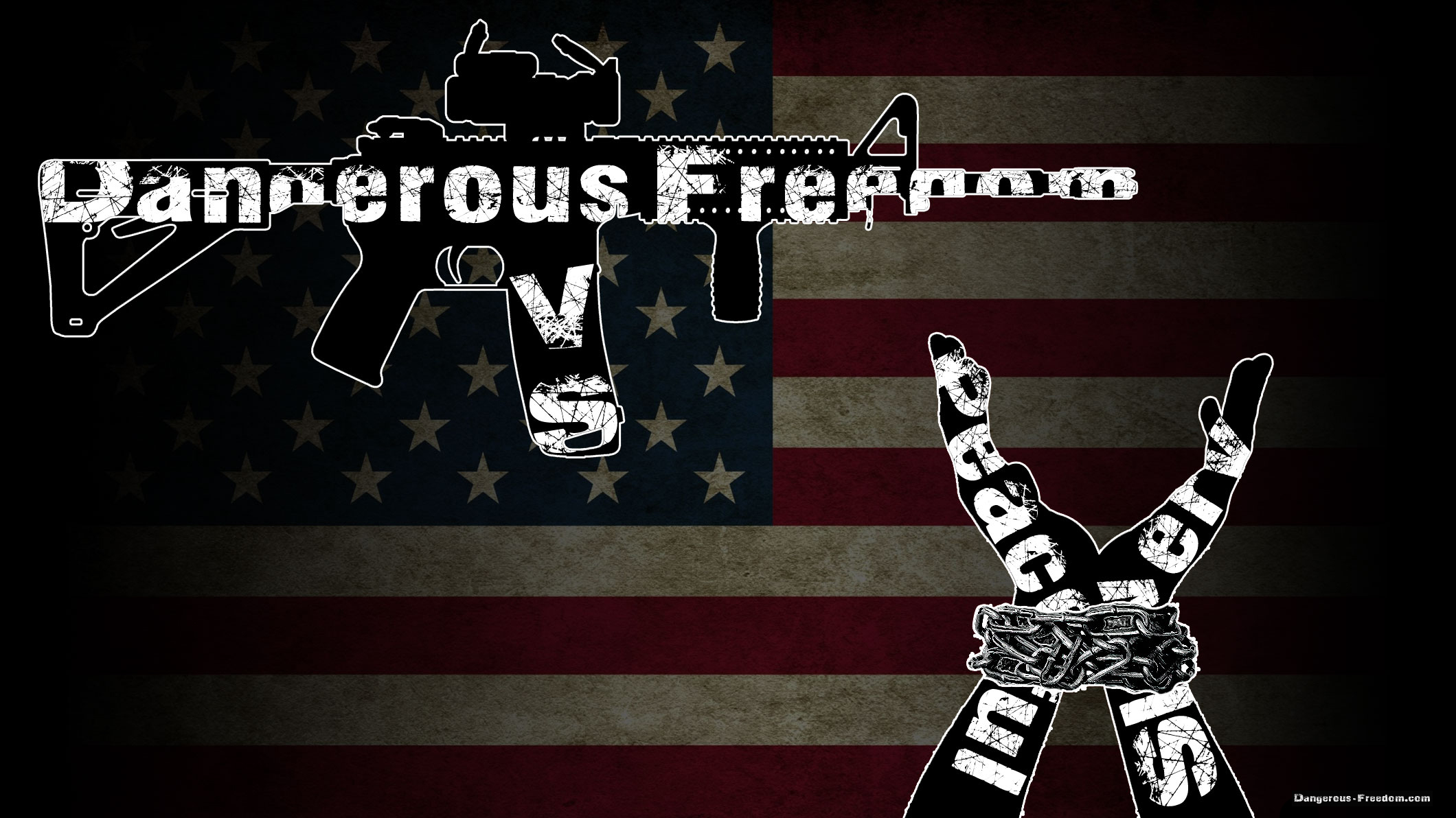 I prefer dangerous freedom over peaceful slavery -Thomas Jefferson